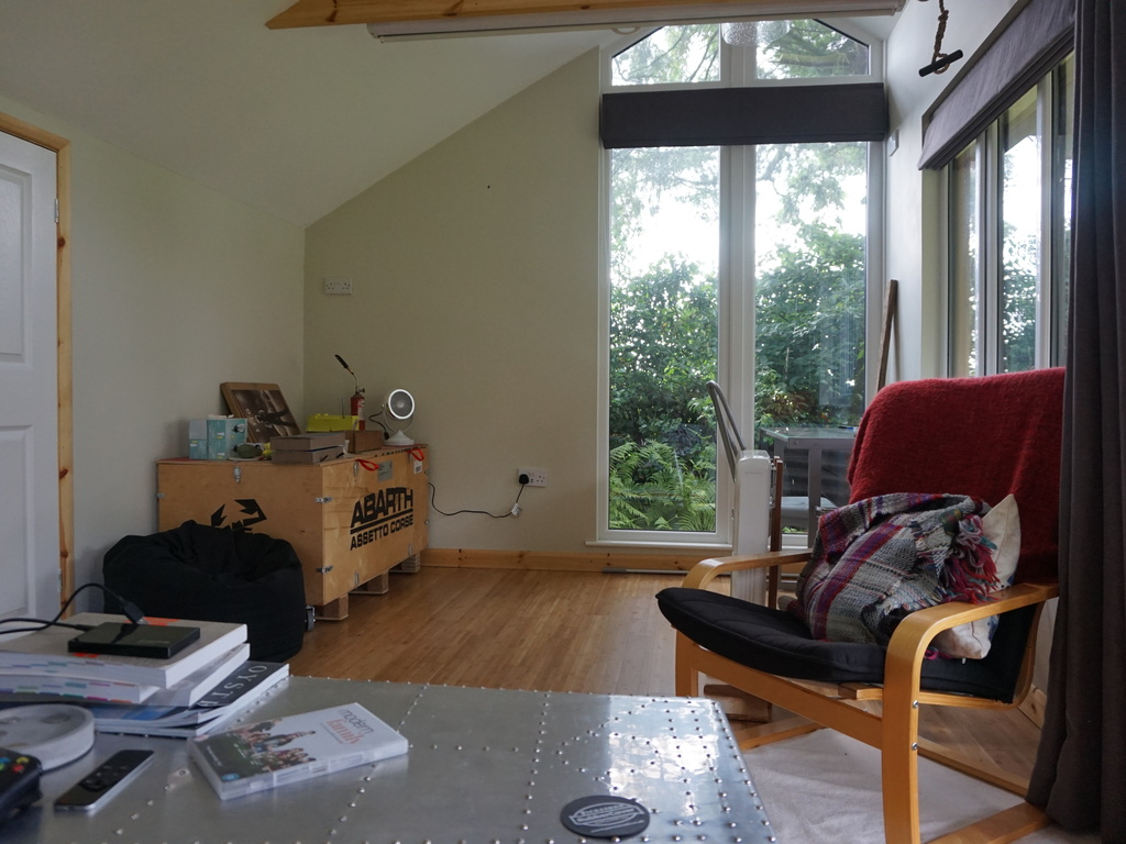 Garden Office in Great Plumstead - Interior